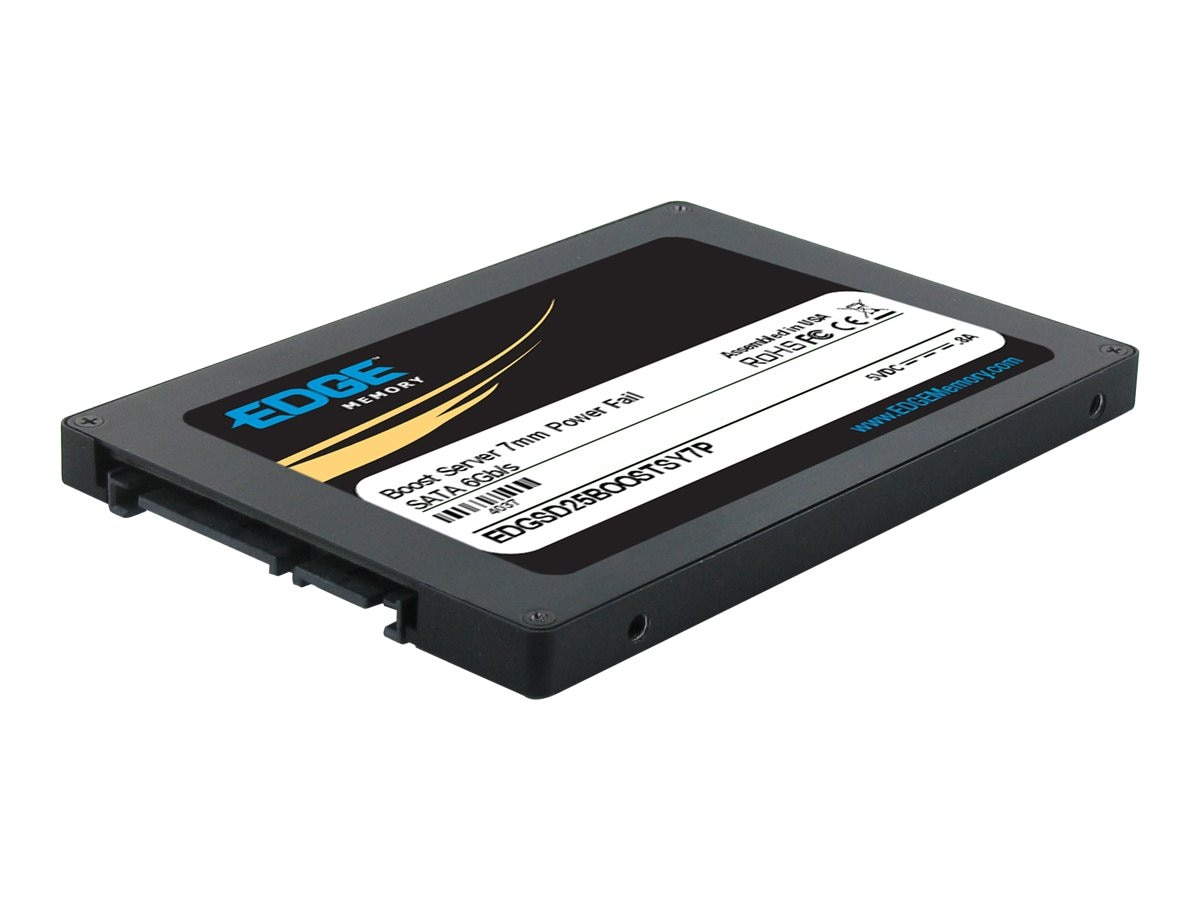 Edge 200GB Boost Server SATA 6Gb s 2.5 7mm Internal Solid State Drive, PE239718