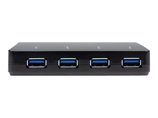 StarTech.com 4-Port USB 3.0 Hub with Dedicated Charging Port, ST53004U1C