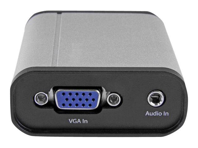 StarTech.com USB 3.0 1080p Capture Device for High-Performance VGA Video, Aluminum, USB32VGCAPRO