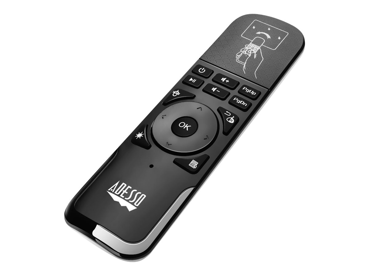 Adesso Air Mouse Remote w  Laser Pointer