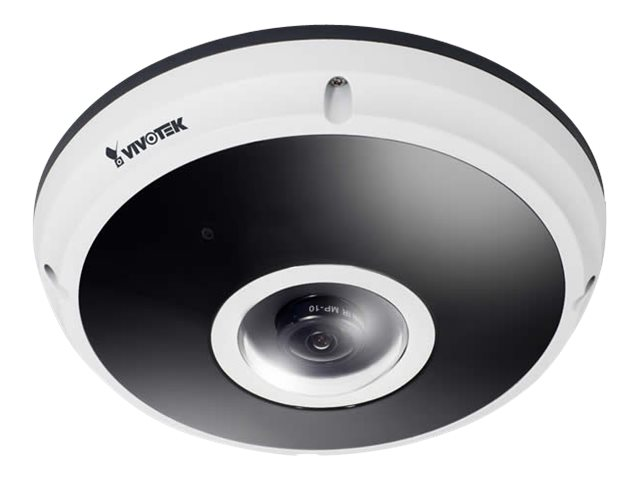 4Xem 12MP Indoor Outdoor Fisheye Dome Network Camera with 1.5mm Lens
