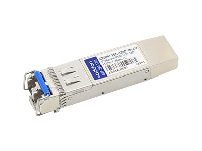 ACP-EP 10GBASE-ER CWDM LC SFP+ 1510NM 40KM for Cisco, CWDM-10G-1510-40-AO, 14858462, Network Transceivers