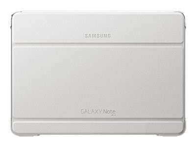 Samsung Book Cover for Galaxy Note 10.1 2014 Edition, White, EF-BP600BWEGUJ, 16348204, Carrying Cases - Tablets & eReaders