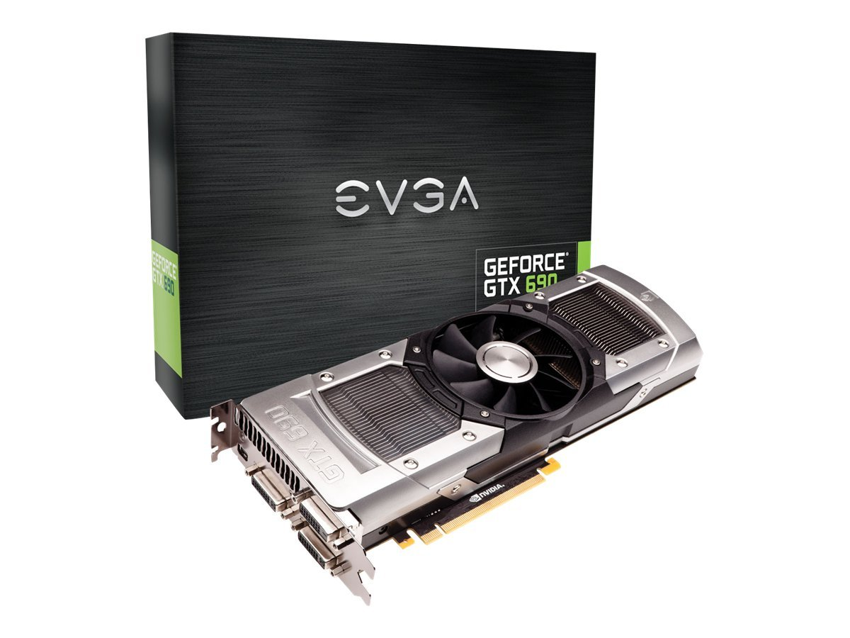 eVGA GeForce GTX 690 PCIe 3.0 x16 Graphics Card, 4GB GDDR5, 04G-P4-2690-KR