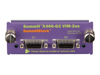 Extreme Networks SUMMIT X460 G2 VIM 2SS OP VIRTUA I F MOD, 16713, 17918846, Network Device Modules & Accessories