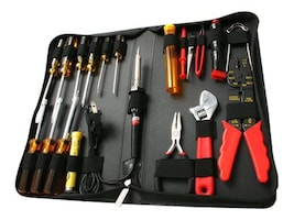 StarTech.com 19 Piece Computer Tool Kit in a Carrying Case, CTK500, 5296541, Tools & Hardware