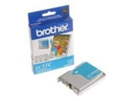West Point LC51C Cyan Ink Cartridge for Brother MFC-240C, LC51C/116257, 12235317, Ink Cartridges & Ink Refill Kits