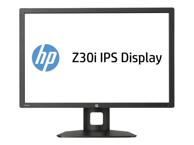 HP 30 Z30i LED-LCD Monitor, Black, D7P94A8#ABA, 16350312, Monitors - Large-Format LED-LCD