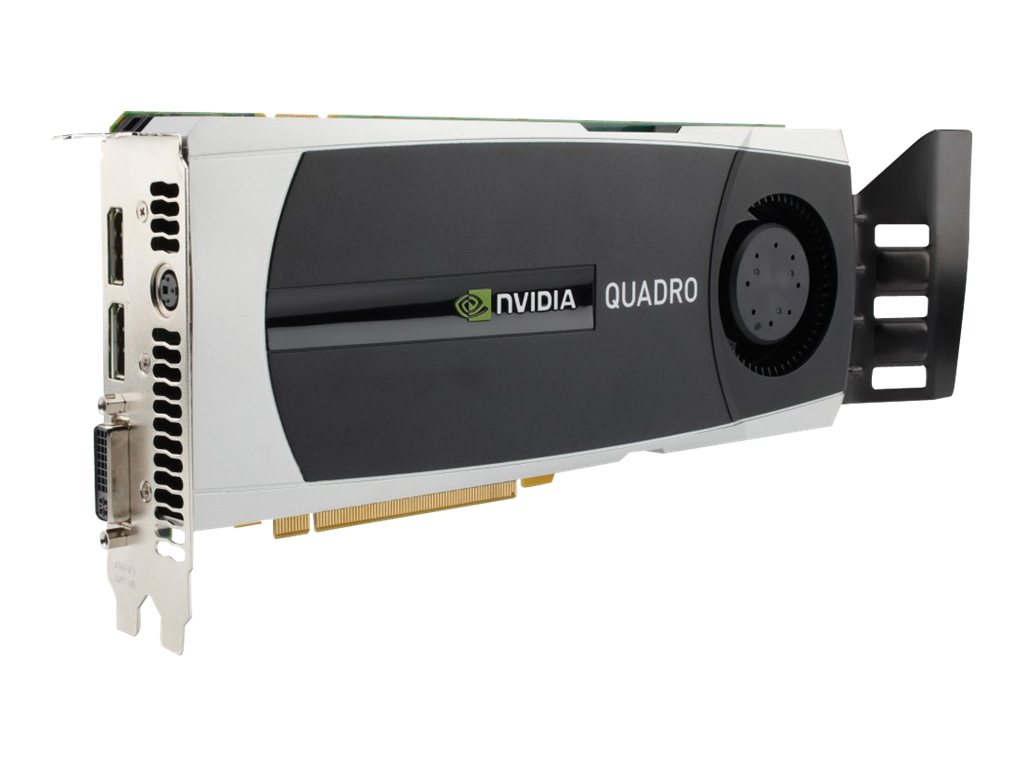 HP NVIDIA Quadro 6000 PCIe 2.0 x16 Graphics Card, 6GB GDDR5, WS097AA