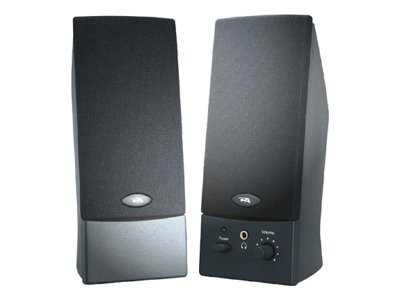 Cyber Acoustics 2-Piece Amplified Computer Speaker System, CA-2014WB