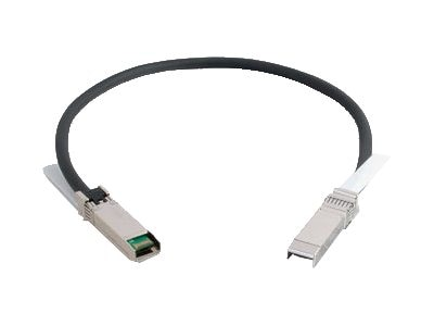 C2G SFP+ Active Copper Twinax Cable, SFF-8432 to SFF-8432, 30AWG, 1m