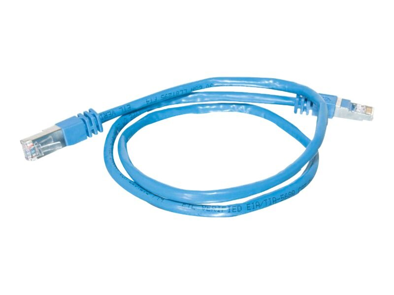 C2G Cat5e Shielded Patch Cable, Blue, 25ft, 27266, 6748280, Cables