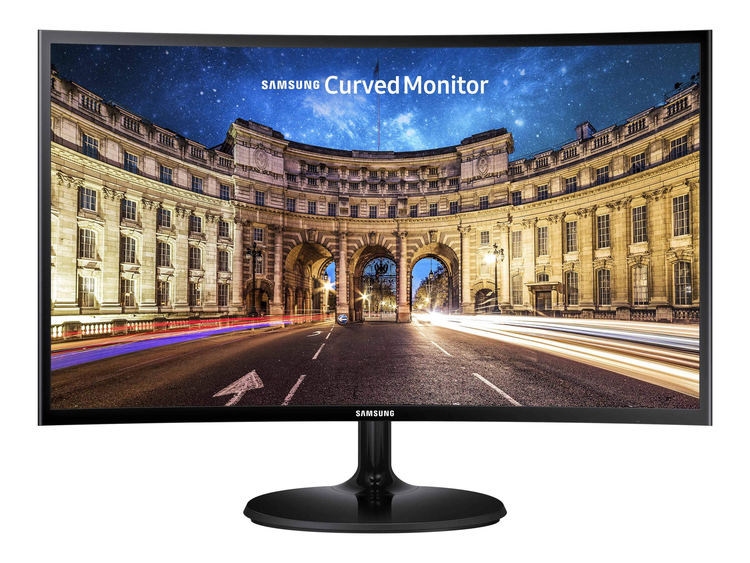 Samsung 27 CF390 Full HD LED-LCD Curved Monitor, Black, C27F390FHN