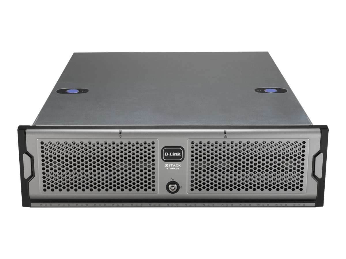 D-Link xStack 15-Bay iSCSI SAN Array, 3U, DSN-3200-10, 7204006, SAN Servers & Arrays