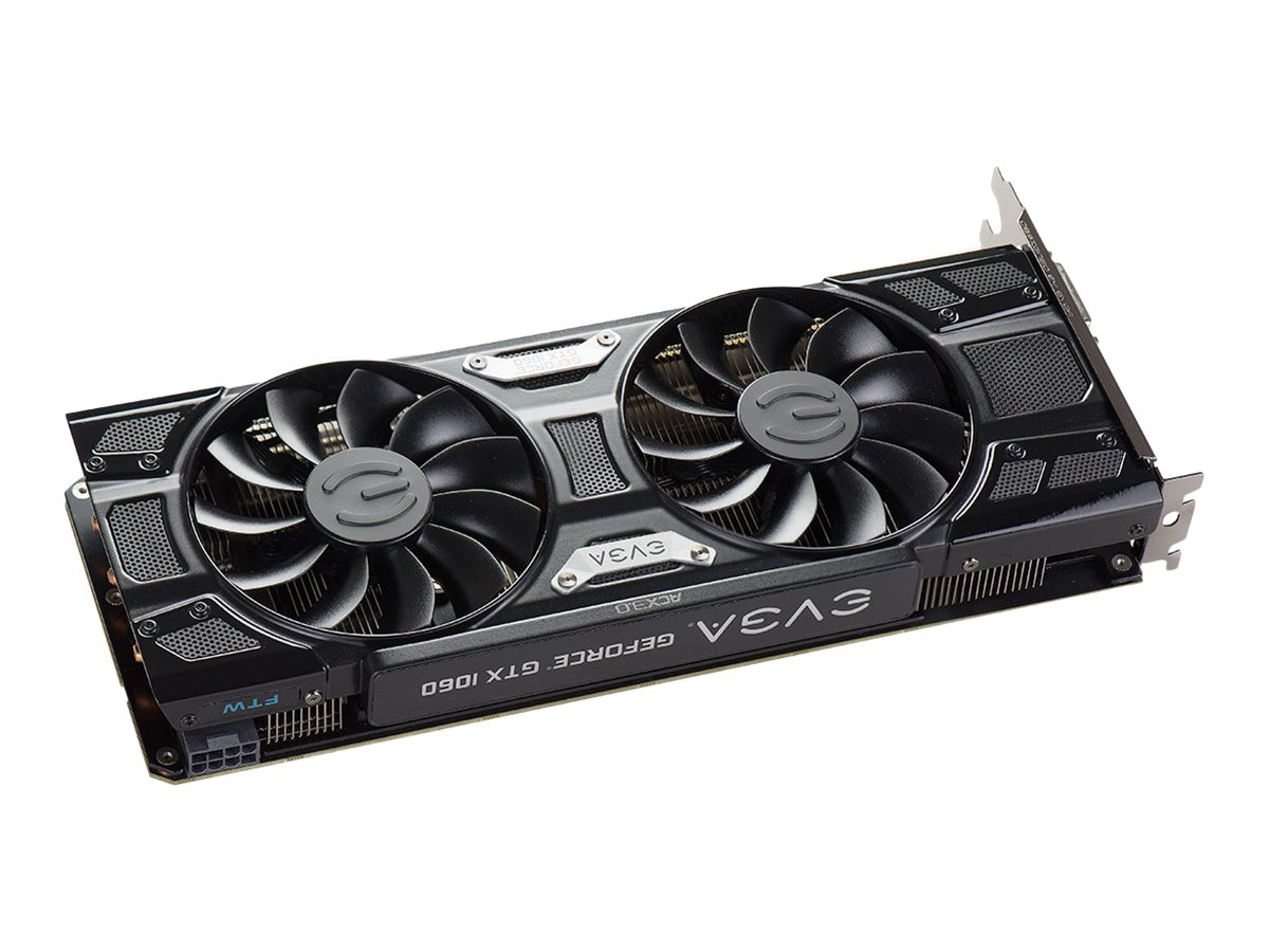 eVGA GeForce GTX 1060 3GB FTW+ PCIe 3.0 x16 Graphics Card, 3GB GDDR5, 03G-P4-6367-KR
