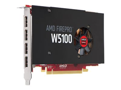 Sapphire AMD FirePro W5100 PCIe 3.0 x16 Graphics Card, 4GB GDDR5, 100-505737, 17785473, Graphics/Video Accelerators