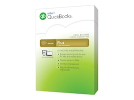Intuit QuickBooks Online Plus 2016 Education - 1 Year Subscription, 427792, 31811367, Software - Financial