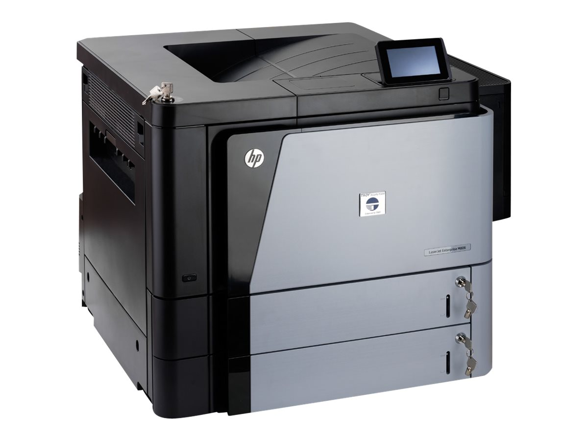 Troy M806DN MICRSecure Printer w  (2) Trays & (2) Locks