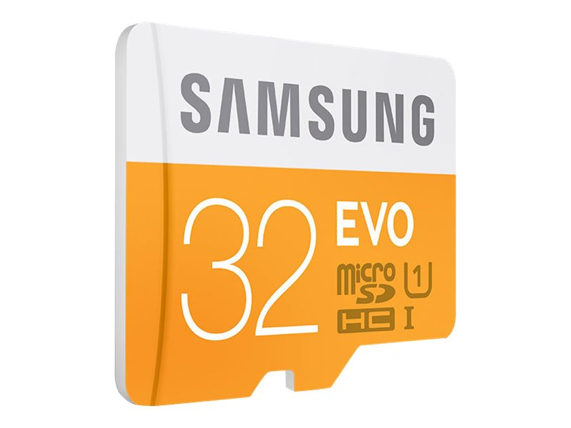 Samsung 32GB microSDHC Flash Card and USB 2.0 Reader, MB-MP32DC/AM, 31585718, Memory - Flash