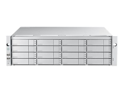 Promise 3U 16BAY 16G FC DUAL CTLR RAID CTLRSUBSYSTEM CHASSIS ONLY W O DRIVES, E5600FDNX