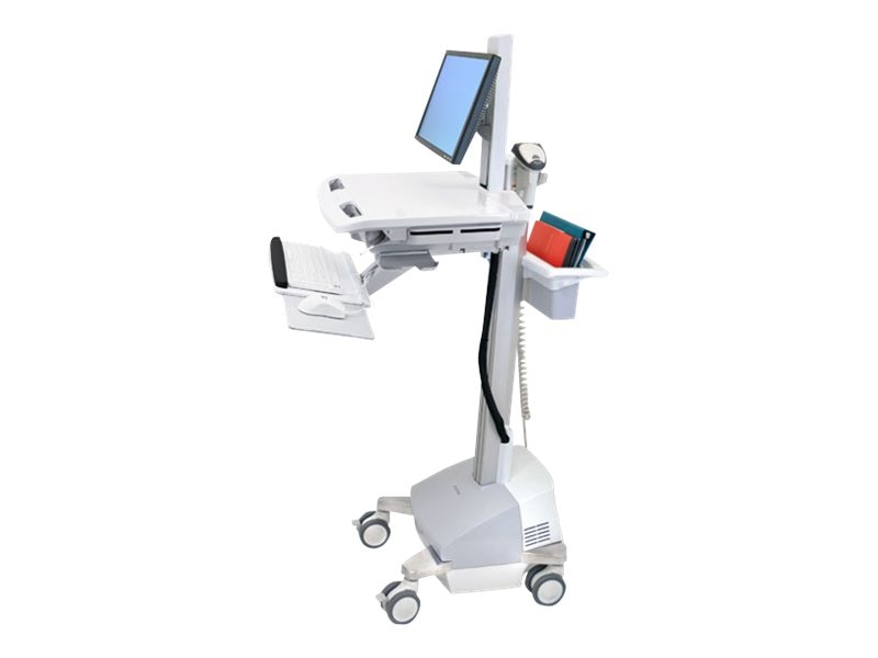 Ergotron StyleView Cart with LCD Pivot, SLA Powered, SV42-6301-6, 16743360, Computer Carts - Medical