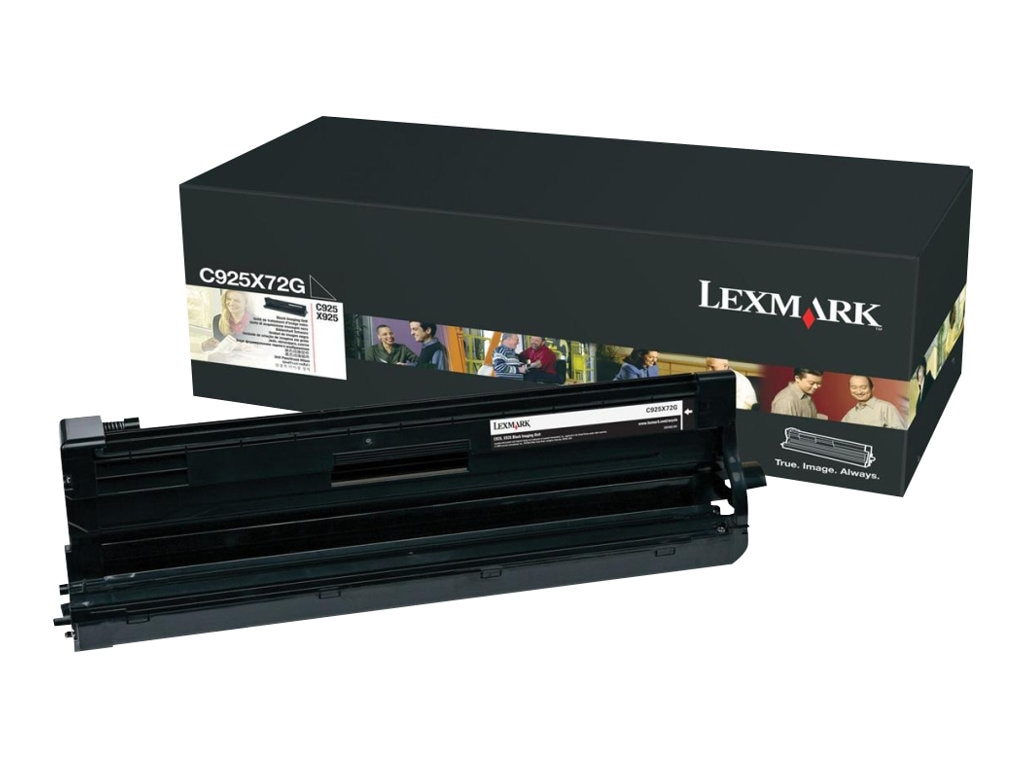 Lexmark Black Imaging Unit for C925de Printer & X925de MFP, C925X72G, 12117986, Toner and Imaging Components