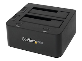 StarTech.com USB 3.0 Dual Hard Drive Dock Station w  UASP for SATA 6Gb s 2.5 3.5 Solid State Drives Hard Drives, SDOCK2U33, 17394878, Hard Drive Enclosures - Multiple