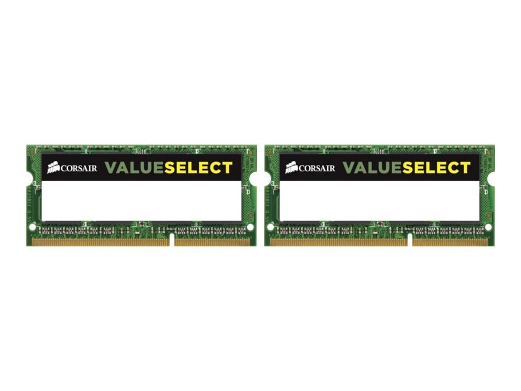 Corsair 16GB PC3-12800 204-pin DDR3 SDRAM SODIMM Kit, CMSO16GX3M2A1600C11