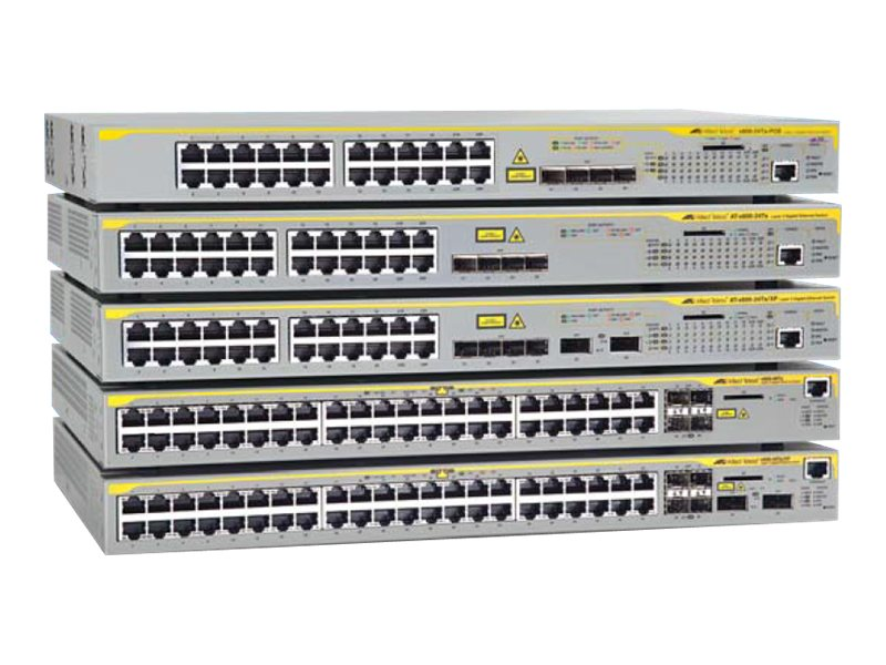 Allied Telesis 24-port GE PoE+ L3 Switch