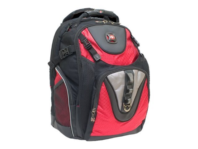 Wenger Maxxum Computer Backpack, Black Red, GA-7303-13F00, 6477521, Carrying Cases - Notebook