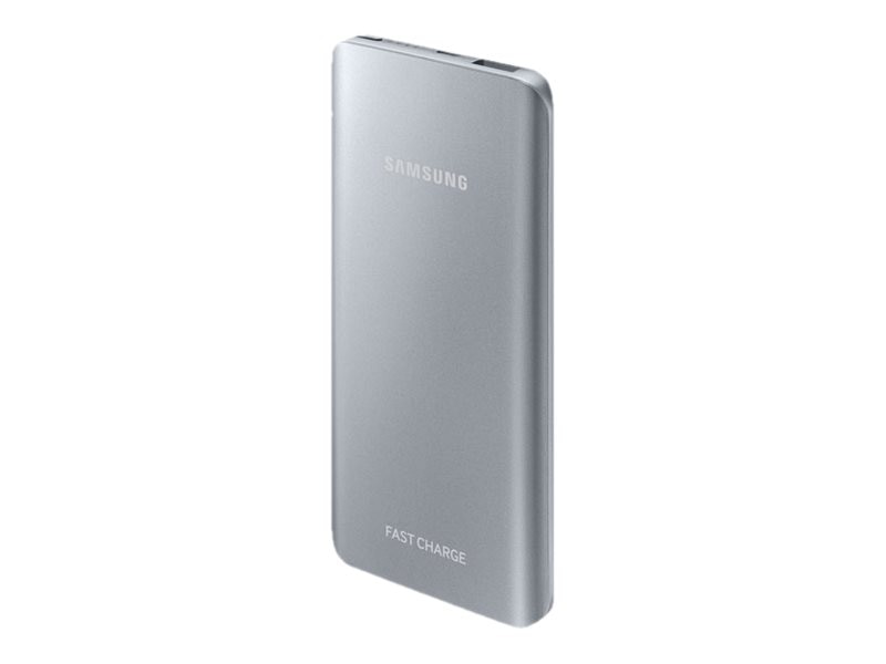 Samsung Fast Charge Battery Pack, 5200mAh, Silver