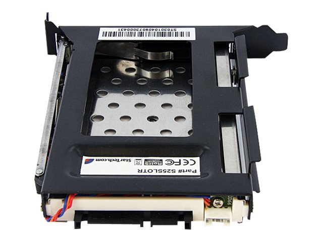 StarTech.com 2.5 SATA Removable Hard Drive Bay for PC Expansion Slot, S25SLOTR