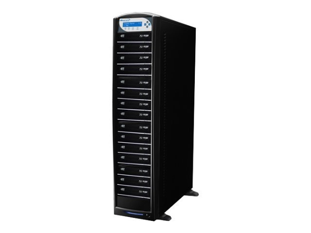 Vinpower SharkBlu Blu-ray DVD CD USB 3.0 1:15 Duplicator - Pioneer w  Hard Drive, BD-PIO-15-BK, 15127477, Disc Duplicators