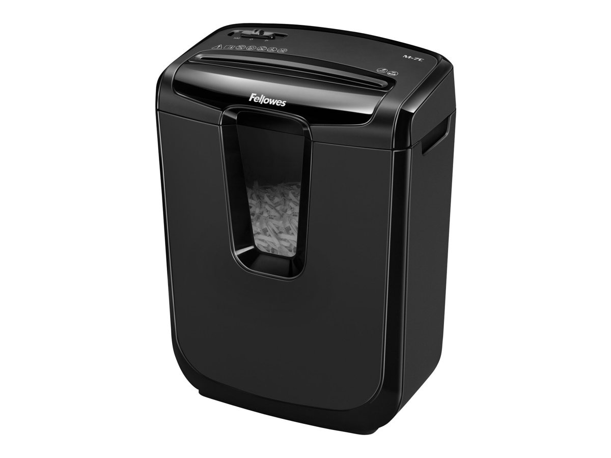 Fellowes Powershred M-7C Cross-Cut Shredder, 4603001, 17682108, Paper Shredders & Trimmers