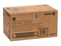 Xerox Black Toner (Qty 2) (Inc Waste Toner Bottle)