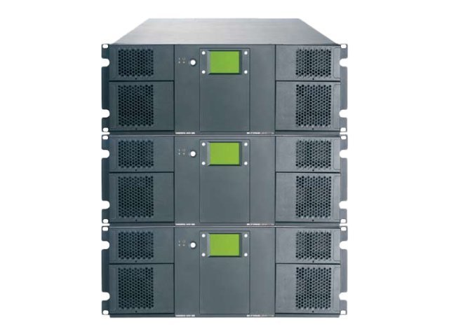 Tandberg Data T120+ 12U-114 Slot Storage Library - Bare w  Barcode, 8159-LTO