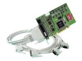 Brainboxes 4-port UPCI 4XRS422 485 1MB OPTO Isolated Controller, UC-368, 14488799, Controller Cards & I/O Boards