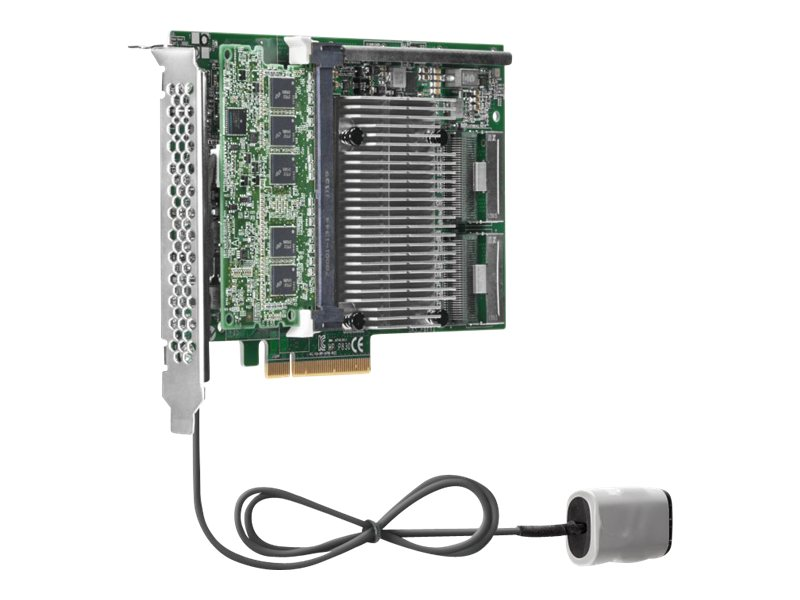 HPE Smart Array P830 4GB FBWC 6Gb 2-ports Int PCIe x8 SAS Controller, 698533-B21, 16883346, Controller Cards & I/O Boards