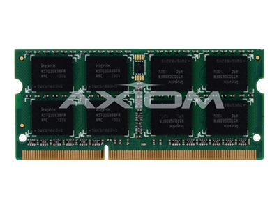 Axiom 4GB PC3-12800 200-pin DDR3 SDRAM SODIMM for Select MacBook Pro Models, MB1600/4G-AX