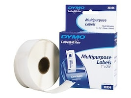 DYMO Multi Purpose Labels 1 inch x 2.125 inch Labels, 30336, 48701, Paper, Labels & Other Print Media