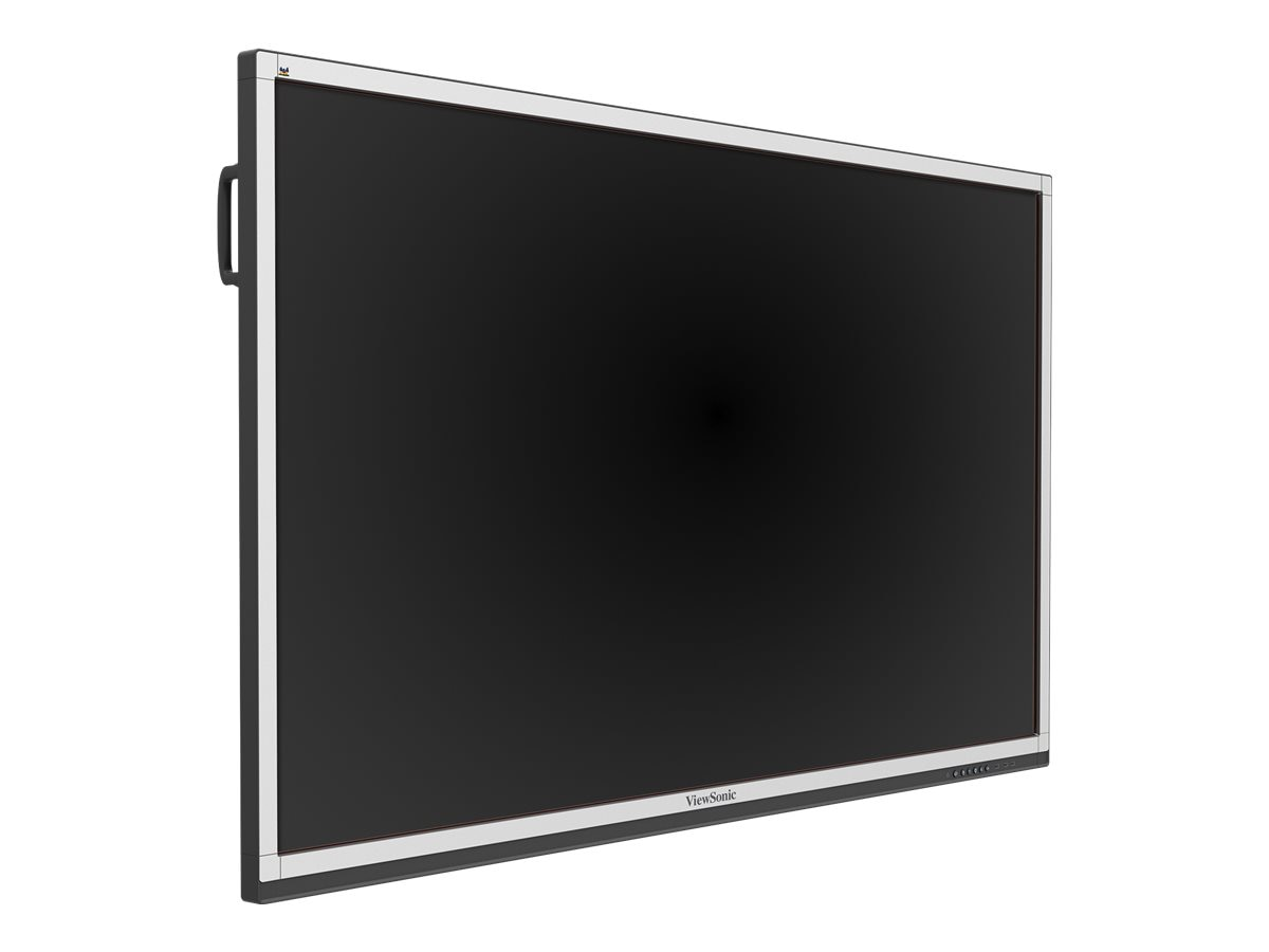 ViewSonic 75 CDE7561T Full HD LED-LCD Touchscreen Display, White Black, CDE7561T