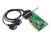 Siig Dual Profile PCI 2-Port RS-232 Serial Adapter, JJ-P20211-S7