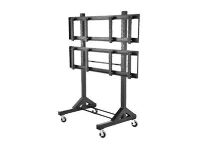 Peerless Universal 2x2 Video Wall Cart for 40-60 Flat Panels, DS-VWC560, 12966890, Stands & Mounts - AV