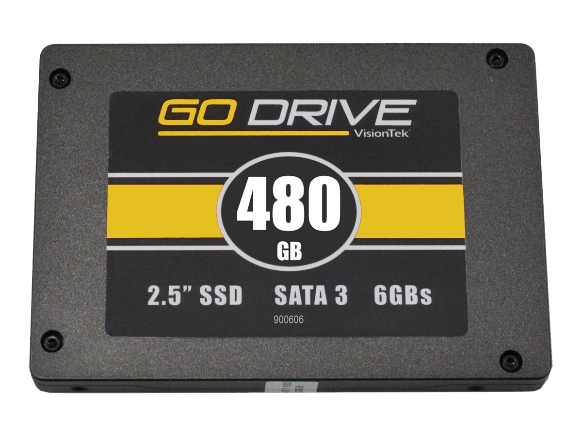VisionTek 480GB GoDrive SATA 6Gb s High Performance 2.5  Internal Hard Drive, 900606