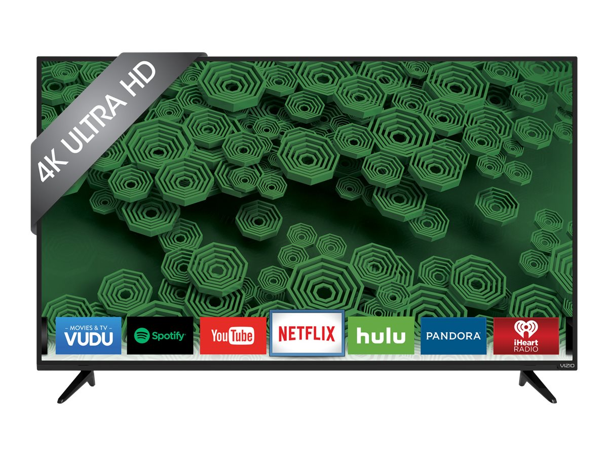 Vizio 55 D55U-D1 Ultra HD LED-LCD Smart TV, Black, D55U-D1, 30183961, Televisions - LED-LCD Consumer