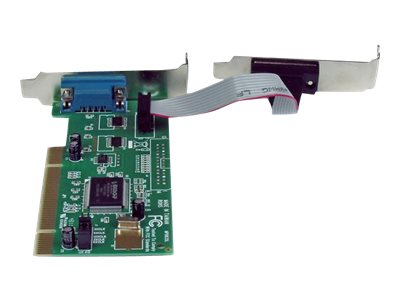 StarTech.com 2-Port Low Profile Serial PCI I O Card Adapter 16550 UART, Plug & Play, PCI2S550_LP