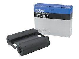 Brother Black Print Ribbon for IntelliFax 1350, 1450, 1550, 1850 & 1950 Series, PC101, 24067, Printer Ribbons