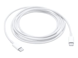 Apple USB Type C (USB-C) M M Charge Cable, White, 2m, MLL82AM/A, 33041520, Cables