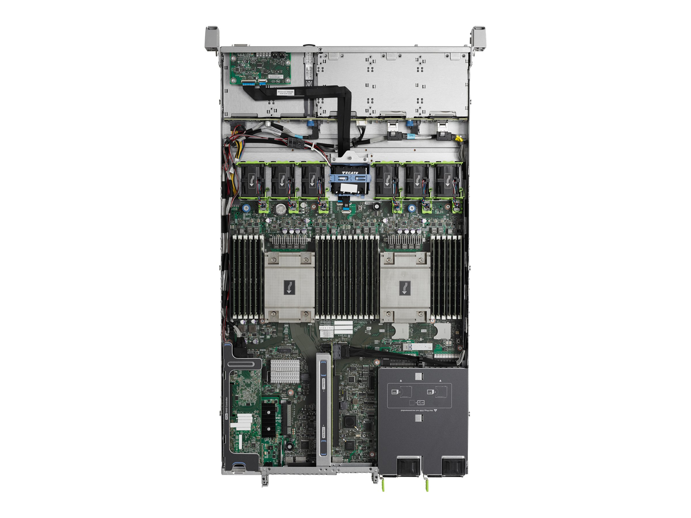 Cisco UCS Smart Play Select C220 M4S Advanced (2x)E5-2670 v3 2.3GHz 128GB 8x2.5Bays VIC1227 2x10Gb 2x770W, UCS-SPL-C220M4-A2