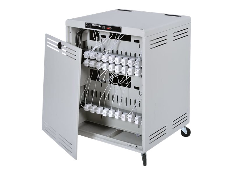 Spectrum Industries Connect30 Cart for iPads, Chromebooks, Notebooks, 55473-10LG01, 30992784, Computer Carts